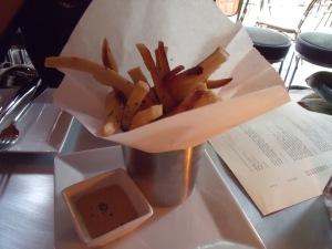 Yuca Fries with Lucuma Mustard