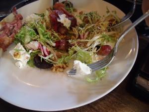 Crispy Duck Confit Salad